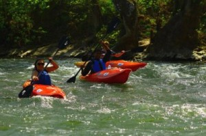 Rafting at Front Royal Canoe