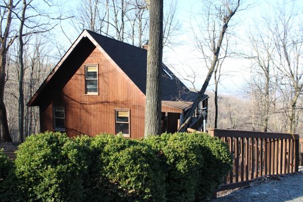 Bear Lodge in Winter