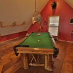 Pool Table, Boar Head
