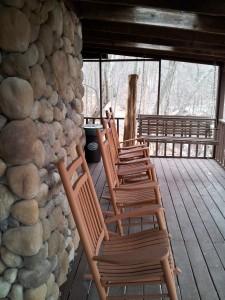 Bear Lodge Balcony